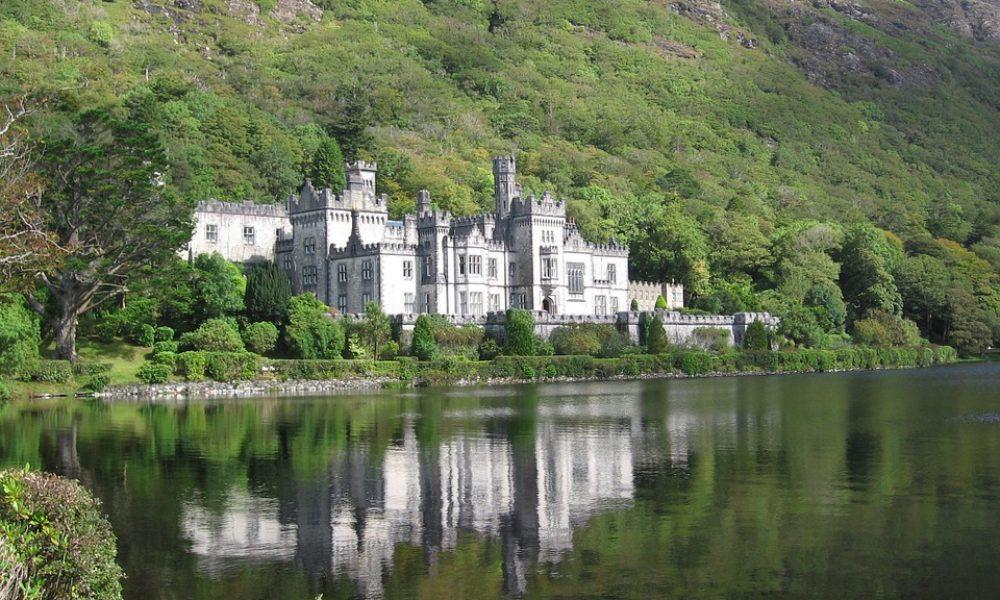 Monastery Kylemore Abbey Ireland County Galway
