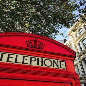 londra cabina telefonica